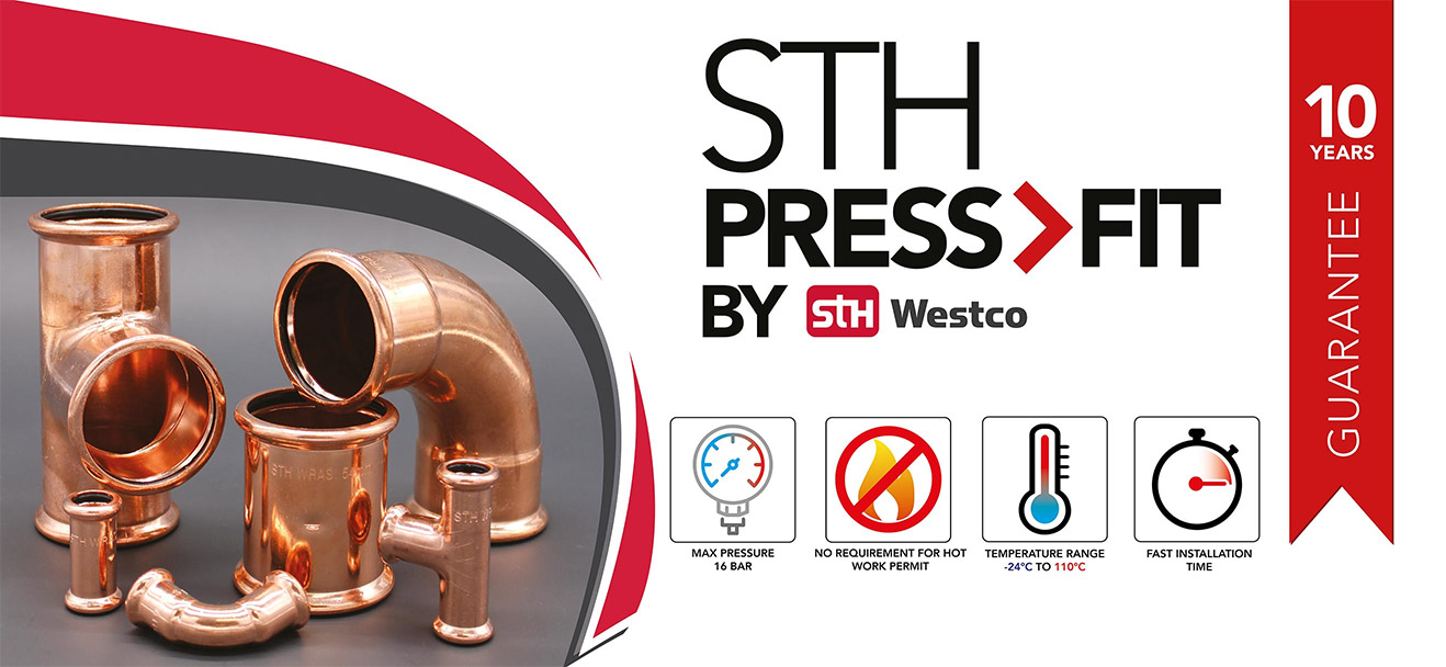Copper press fit by STH Westco